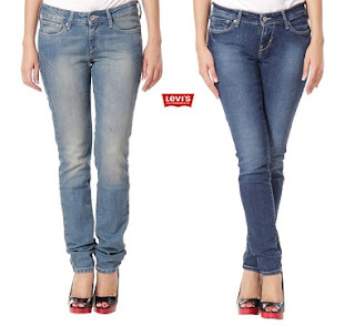 Levis Women's Blue Denim Skinny Fit Jeans worth Rs.1899 for Rs.450 Only