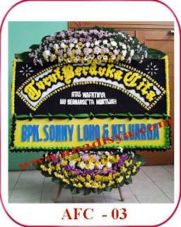 bunga papan untuk orang meninggal