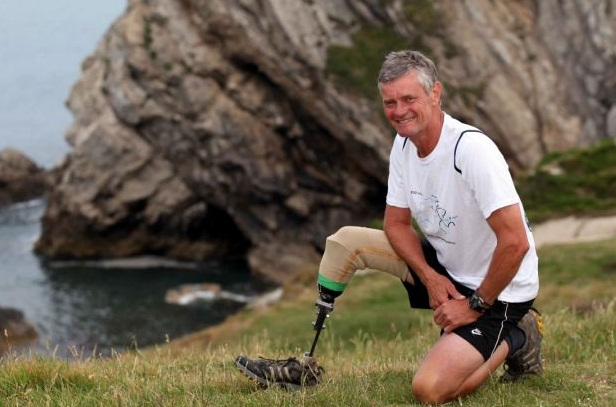Leg amputee enters one of worlds toughest races