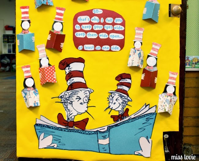 sc 1 st  Miss Lovie & Miss Lovie: Dr. Seuss Door Decoration: I Can Read With My Eyes Shut