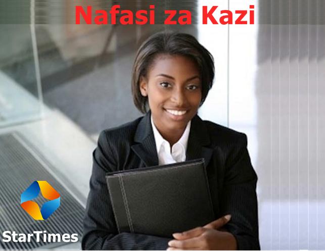 Star Media (Tanzania) Limited tunatoa nafasi za kazi katika Idara ya