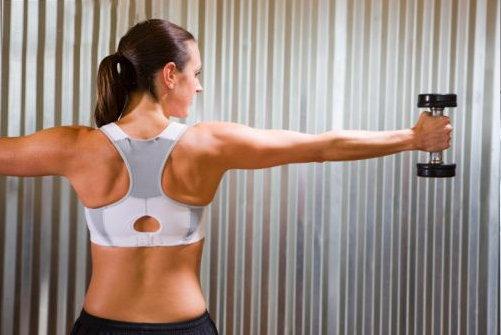 definição muscular feminina