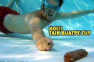 Jangan Buang Air Dalam Kolam! #InfoSihat