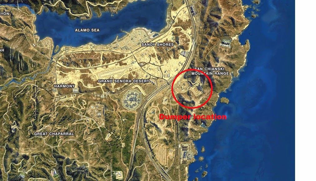 Gta 5 Car Locations Map Maps Map Usa Images Free