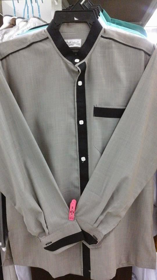 Baju Raihan Kain Cotton Design Baru