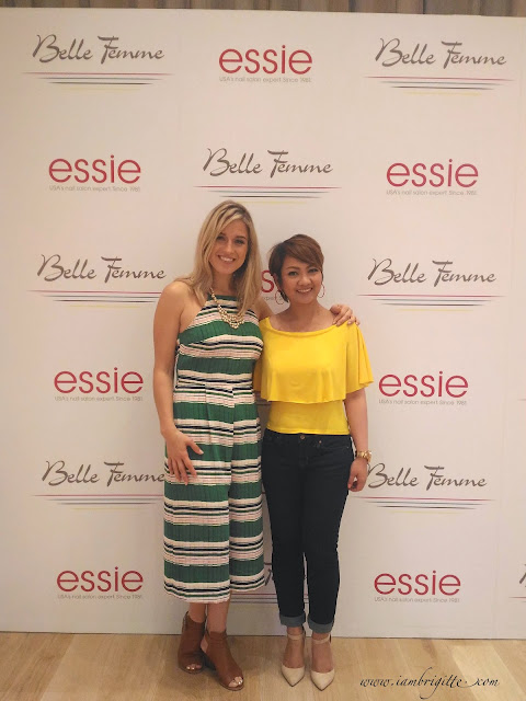 Rita Remark during Essie Cashmere Matte Launch in Dubai