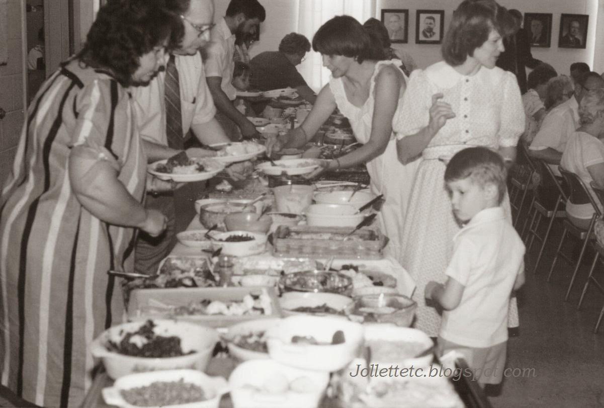 Cradock United Methodist Church Dinner June 1984  http://jollettetc.blogspot.com