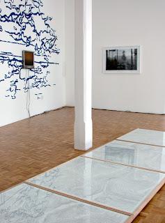 Richard Müller: galerie Quellgasse Bienne vue de l'accrochage