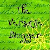 Versatile Blogger Award from THE Tonya Kuper!
