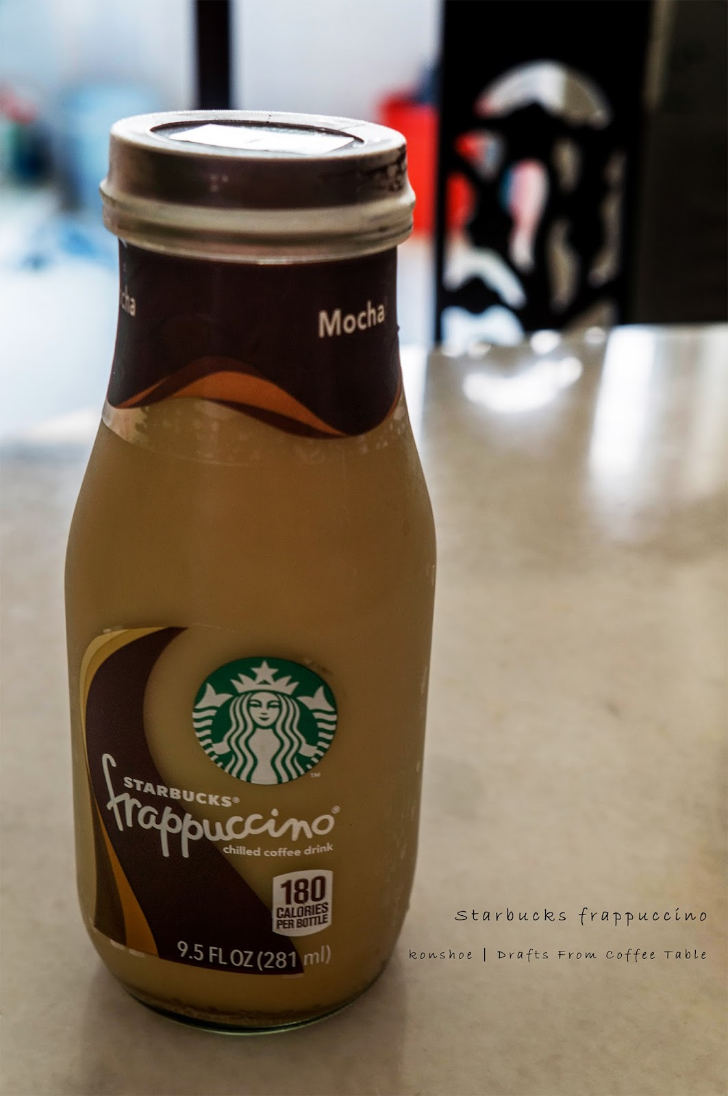 Starbucks Coffee Mocha Bottle