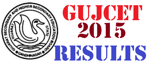 GUJCET Result 2015 Merit List