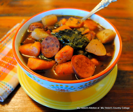 Southern Sweet Potato & Sausage Stew