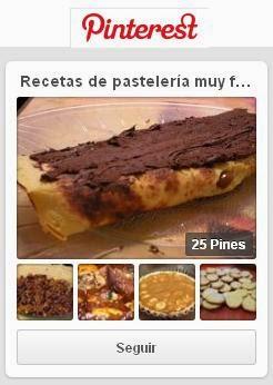 Pastelería Muy Fácil en Pinterest