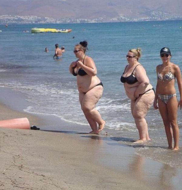 Graças a Deus que não é praia de Nudismo