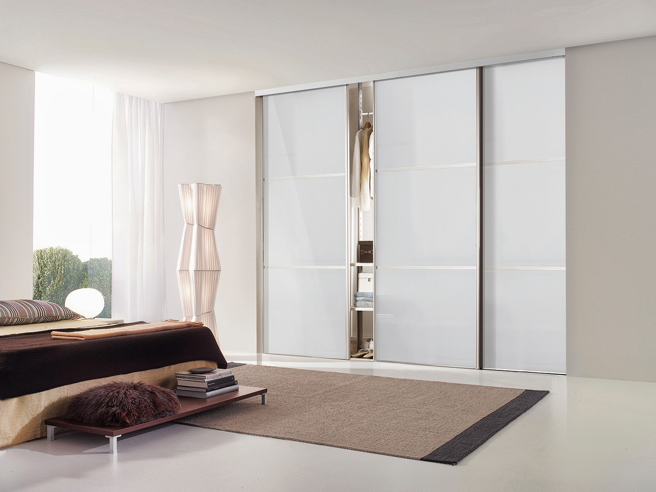 Bedrooms plus sliding wardrobe doors and fittings for B q bedroom storage
