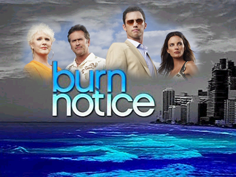 burn notice posters tv series posters and cast. Black Bedroom Furniture Sets. Home Design Ideas