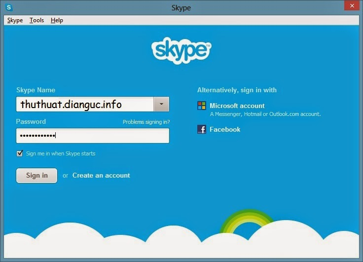 Cách chát 2 chat nhiều nick skype trên 1 máy tính