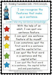 Common Core Star Rubircs and Differentiated Checklists for grade one