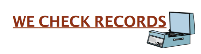 We Check Records