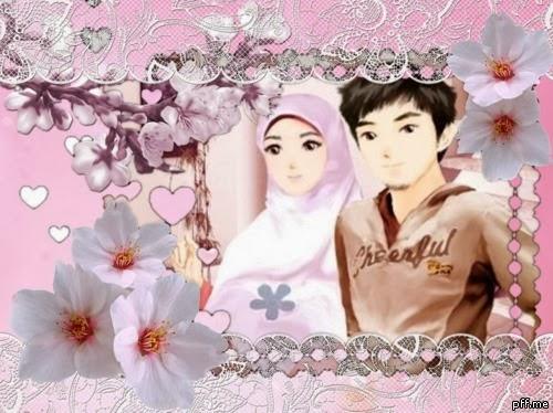 Foto Ikhwan-akhwat kartun Romantis