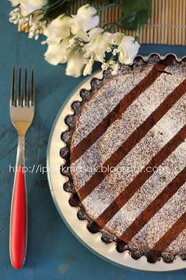 Dapur Ipoek: Rich Chocolate Tart