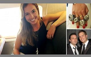 Christine Ouzounian, a ex-babá dos filhos de Ben Affleck e Jennifer Garner, pode estar envolvida em mais uma confusão no meio das celebridades nos Estados Unidos.  Após ser apontada como a pivô da separação do casal, a profissional foi flagrada usando os anéis do Super Bowl de Tom Brady, marido de Gisele Bündchen, durante uma viagem a Las Vegas.