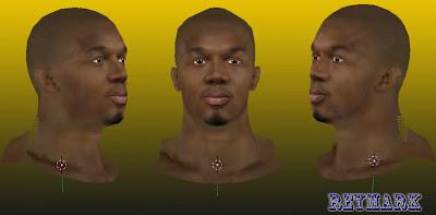 NBA 2K14 David West Cyberface Mod