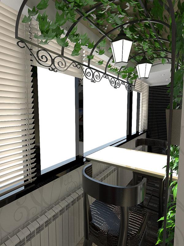 Мебель для лоджии и балкона.