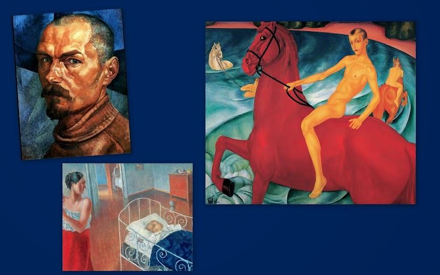 GRUPO (SOVIÉTICO DO) CÍRCULO DE ARTISTAS (Petrogrado – Leningrado, 1927-1929).