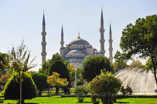 伊斯坦堡, istanbul, 清真寺, 藍廟