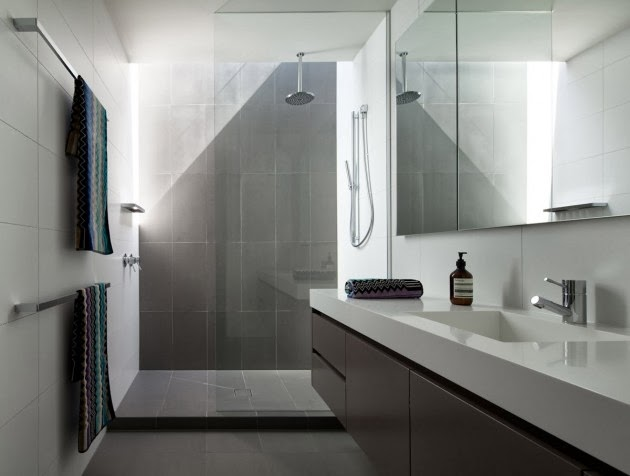 Casa brighton espacios amplios modernos inform for Bathroom designs melbourne