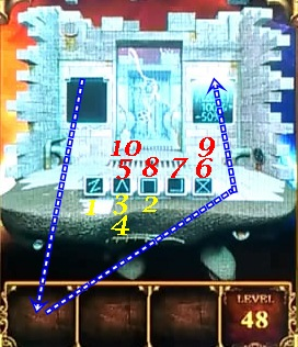 100 Doors Parallel Worlds Level 48 49 50 Cheats