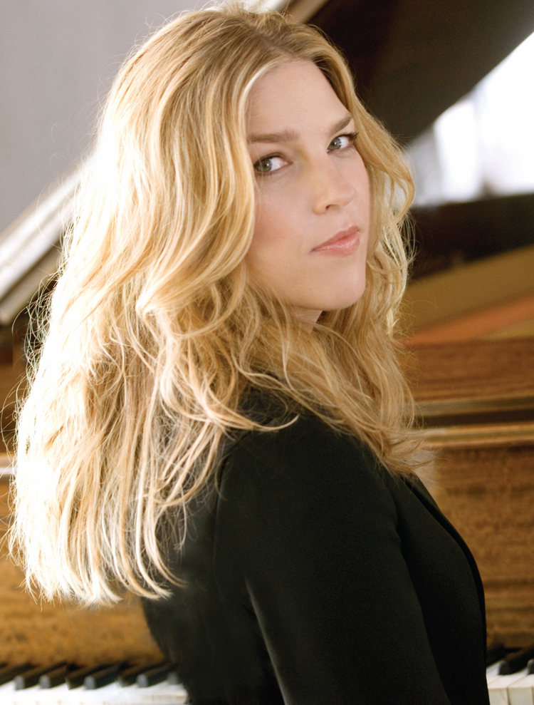 Canadian Celebrities Hairstyle - Diana Krall
