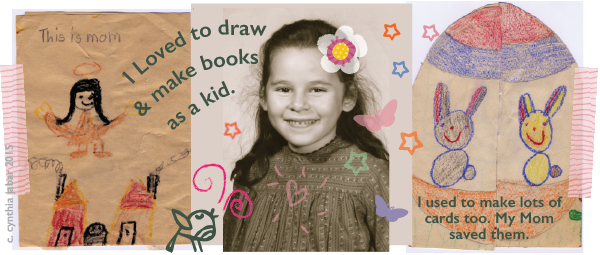 Picture Book author & illustrator Cynthia Jabar in primary school.
