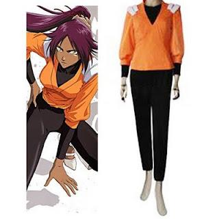 http://www.trustedeal.com/Bleach-Yoruichi-Shihouin-Orange-Jumper-Cosplay-CostumeHJ13_p19012.html