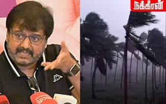 Actor Vivek about Cyclone Gaja   landfall in Tamil Nadu