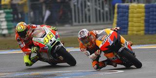 Valentino Rossi & Casey Stoner