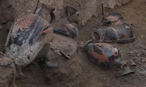 Η άγνωστη Πομπηία: Ανακαλύφθηκε προρωμαϊκός τάφος