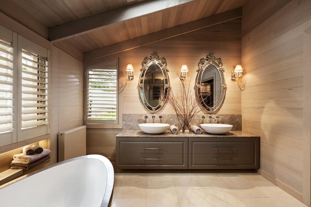 Interior De Una Casa Moderna Con Toques Cl Sicos Y Naturales