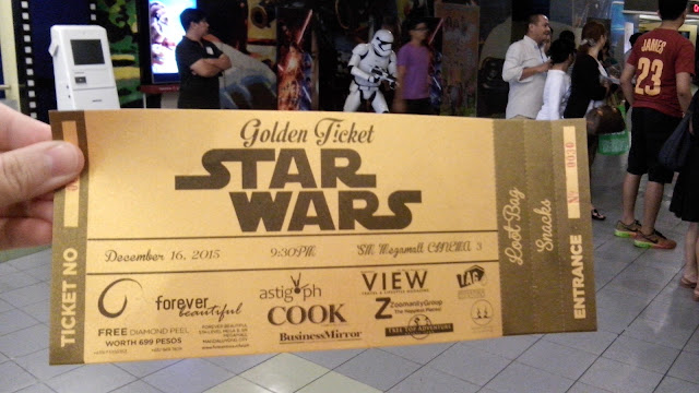 Star Wars The Force Awakens Advance Screening with Spoilers!