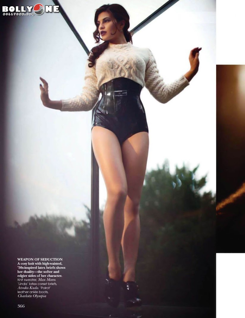 Jacqueline Fernandez Vogue India October 2011 Magazine Scans