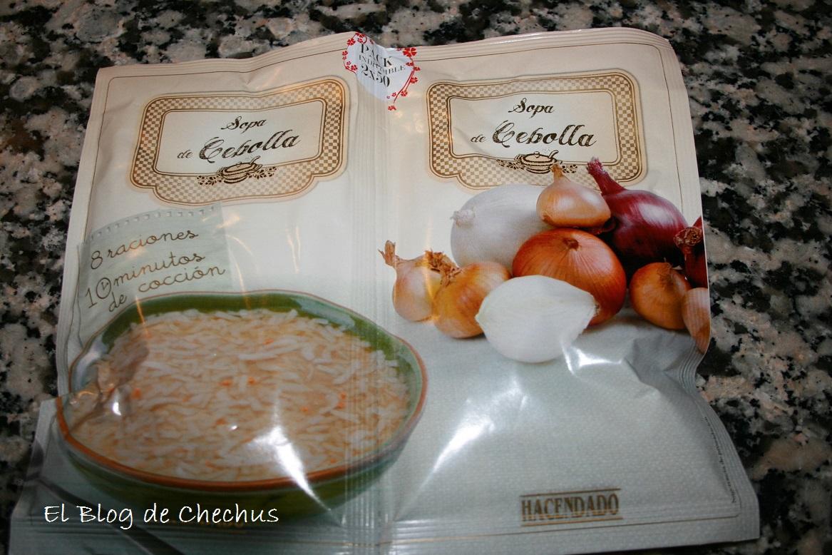 Pechugas a la crema de cebollas, el blog de chechus