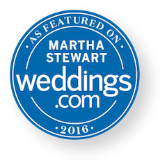 Thank you Matha Stewart Weddings!