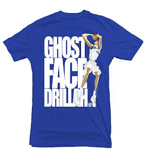 Dirk Nowitzki Ghost Face Drillah Shirt