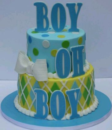 MyTotalNet.com: Baby Shower Cakes for boys