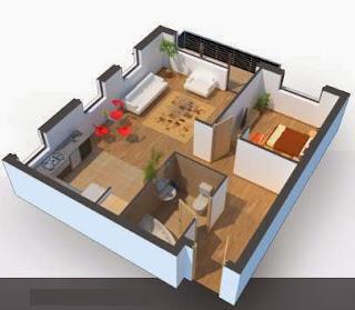 Come disegnare stanze ed edifici in 3d for Programma per arredare la casa