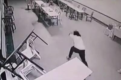 Vídeo de fantasma atacando em hotel esta bombando na internet e já teve milhares de acesso no YouTube