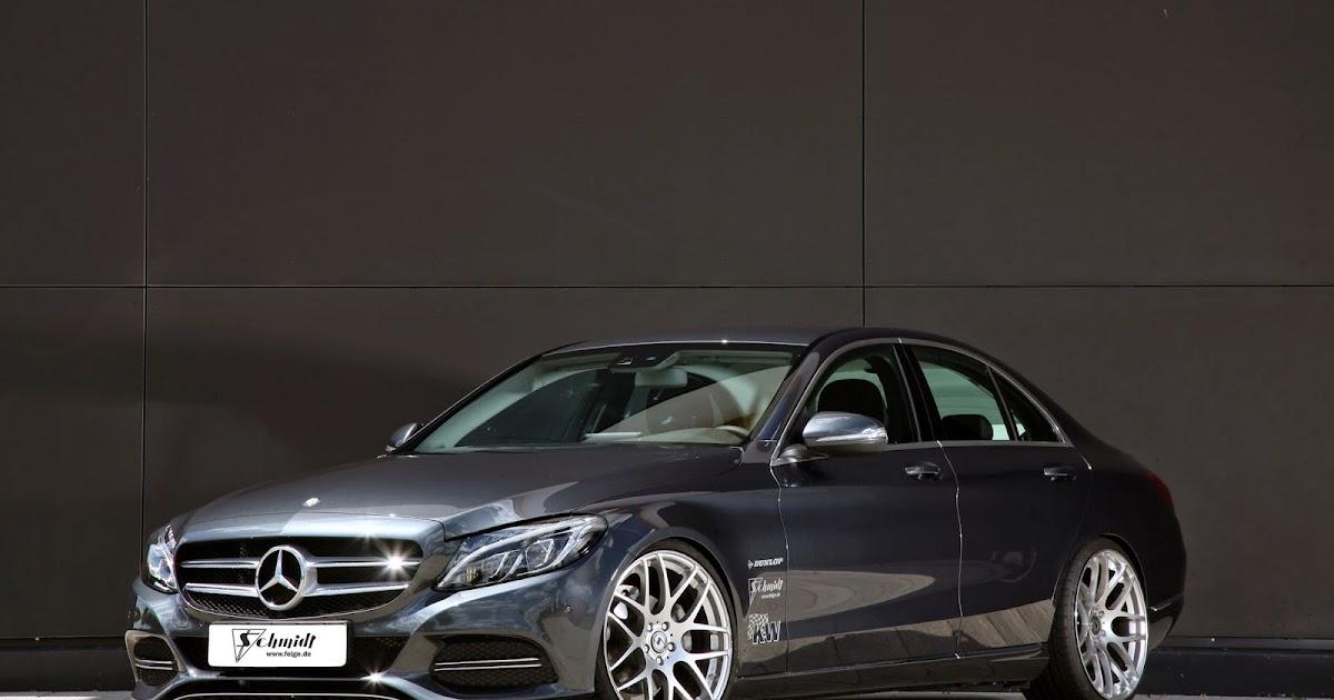 Mercedes Benz W205 C Class Tuned By Schmidt Revolution