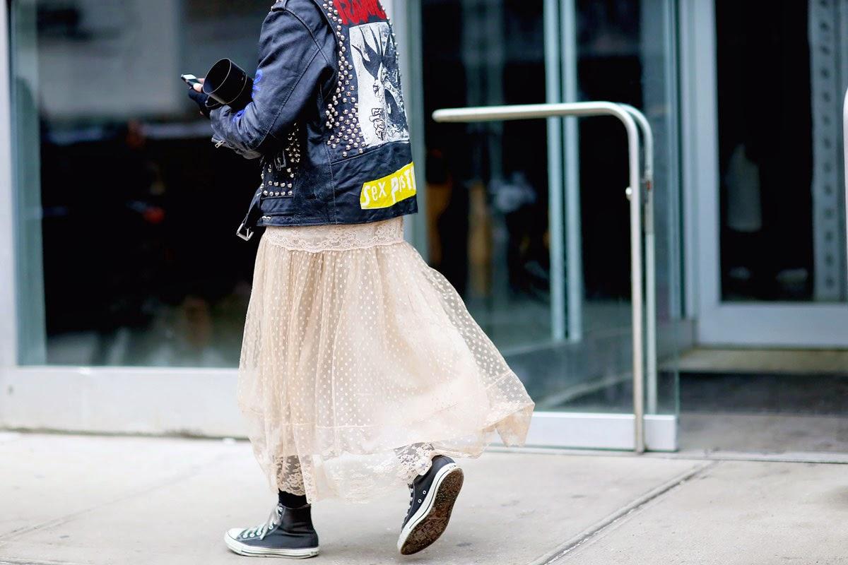 Street style NYFW F/W 14-15