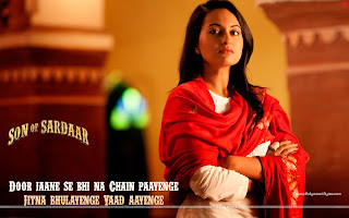 Son Of Sardaar HD Wallpaper Sonakshi Sinha